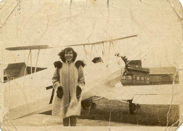 Enterreno - Fotos históricas de chile - fotos antiguas de Chile - Aeropuerto de Puerto Montt, 1939