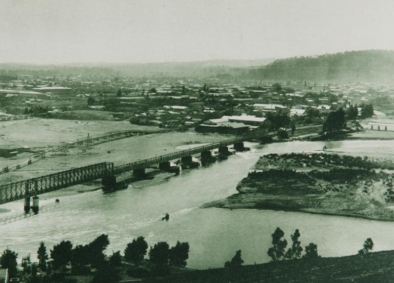 Enterreno - Fotos históricas de chile - fotos antiguas de Chile - Temuco en 1916