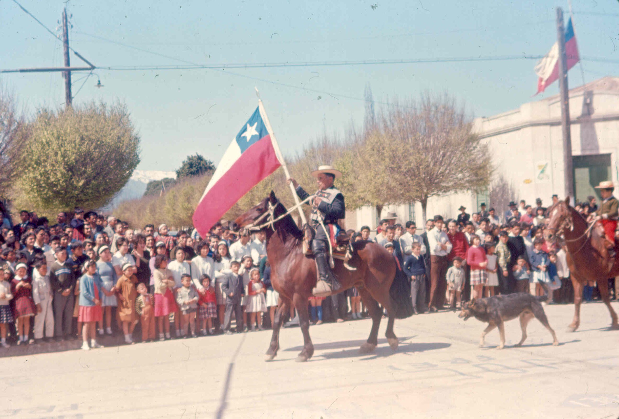 Enterreno - Fotos históricas de chile - fotos antiguas de Chile - San Francisco de Mostazal 1964