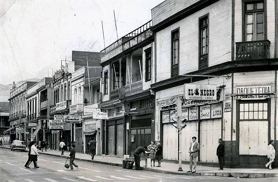 Enterreno - Fotos históricas de chile - fotos antiguas de Chile - Antofagasta en 1960
