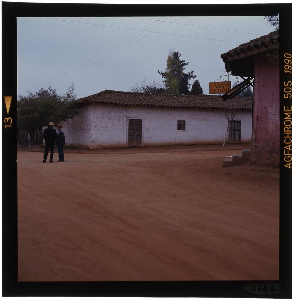 Enterreno - Fotos históricas de chile - fotos antiguas de Chile - San Pedro de Alcántara en 1980