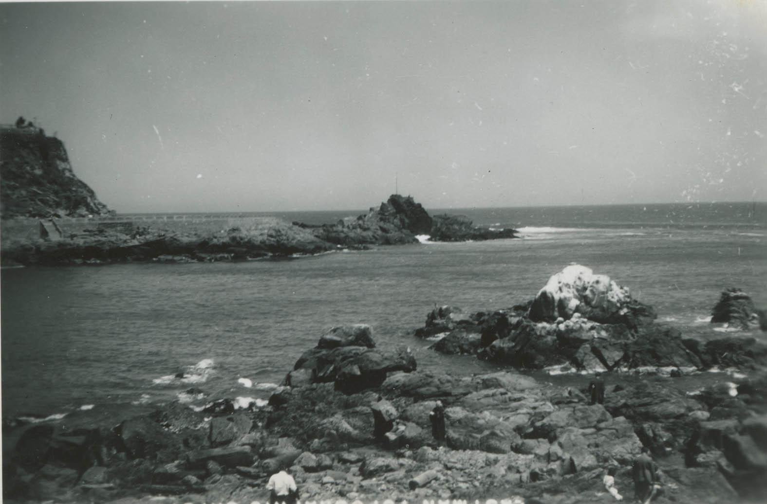 Enterreno - Fotos históricas de chile - fotos antiguas de Chile - Playa Torpederas en 1948