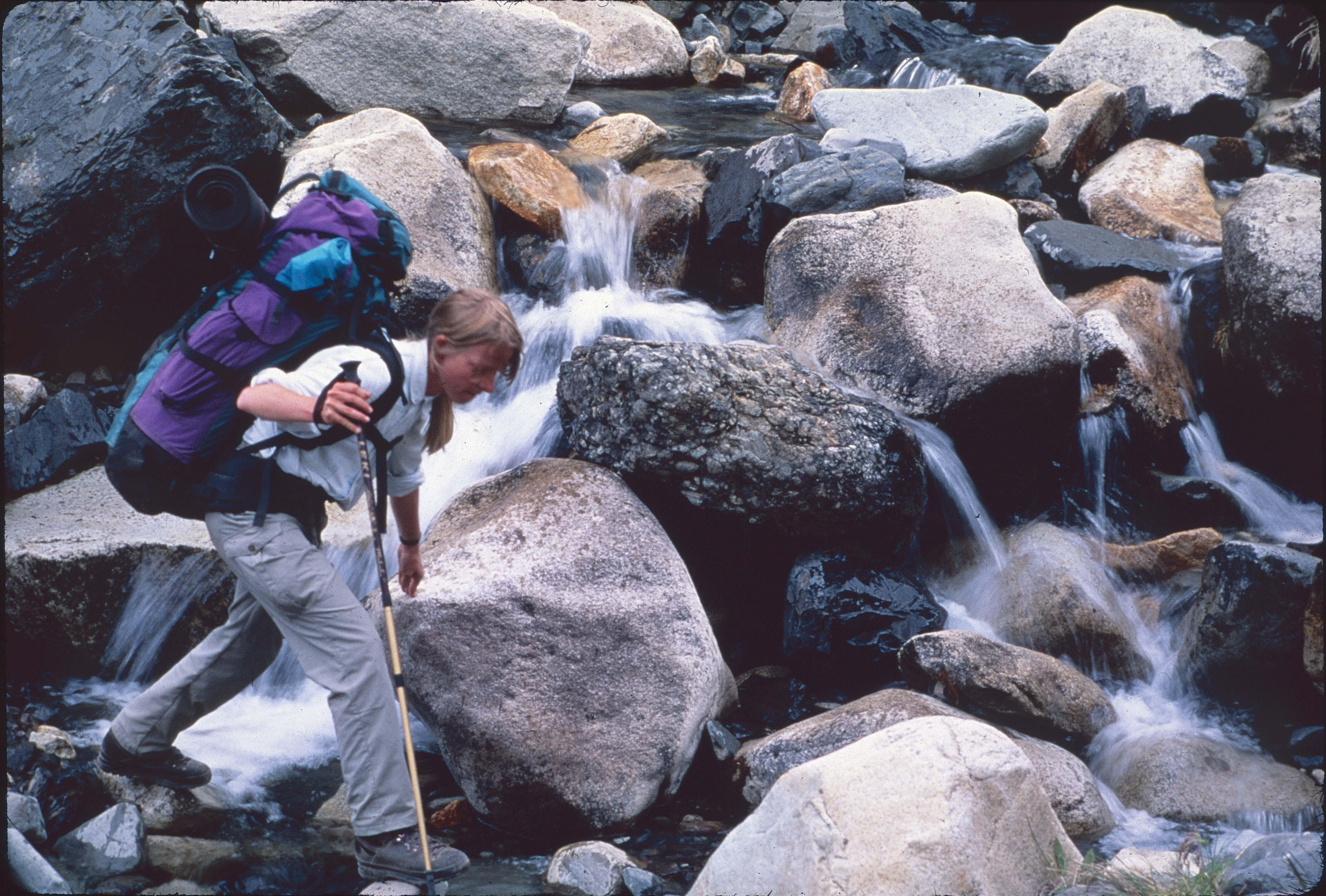 Enterreno - Fotos históricas de chile - fotos antiguas de Chile - Trekking  en los 90s