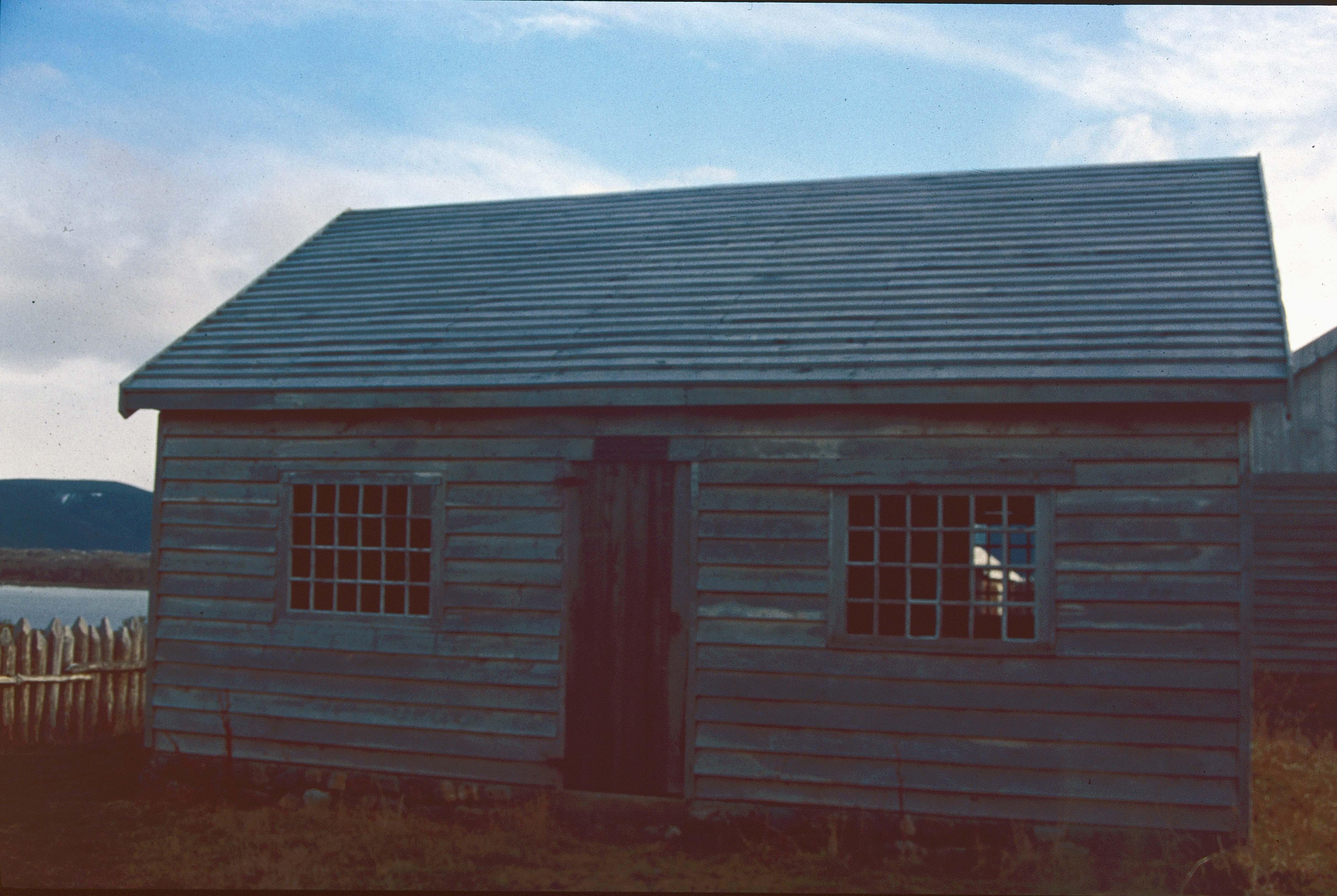 Enterreno - Fotos históricas de chile - fotos antiguas de Chile - Casa en la Patagonia, 90s