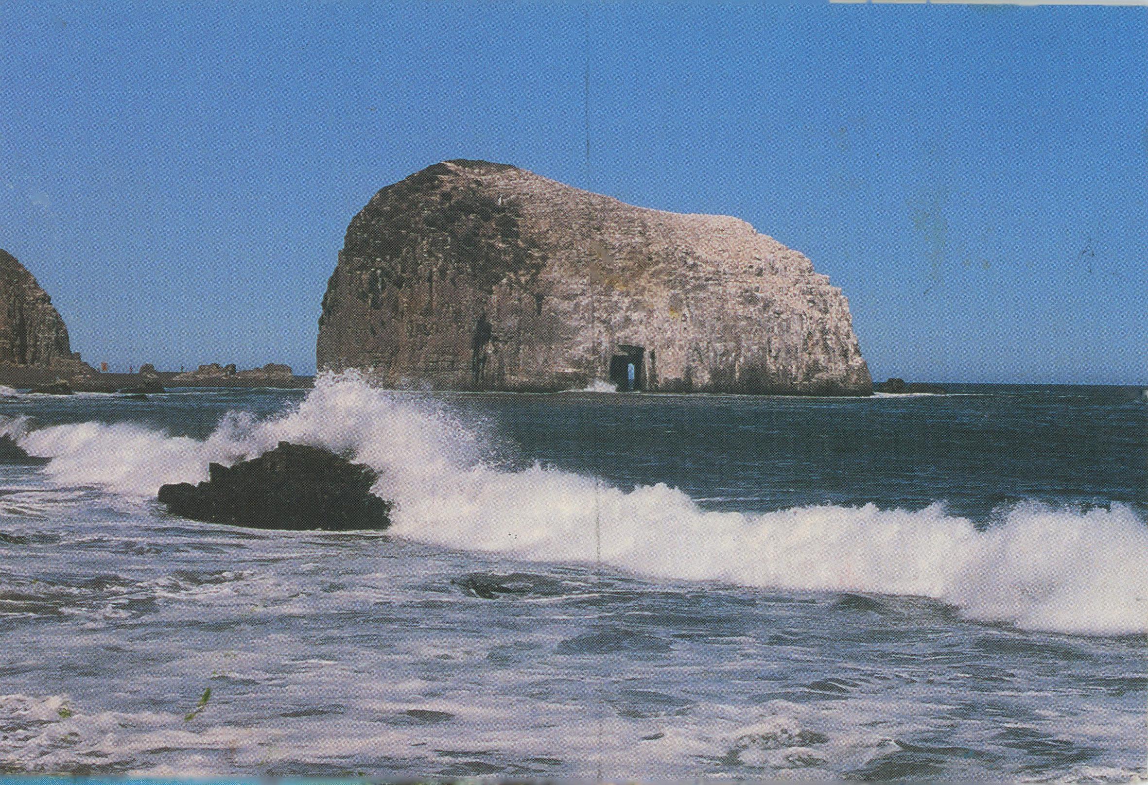 Enterreno - Fotos históricas de chile - fotos antiguas de Chile - Piedra de la Iglesia en 1980