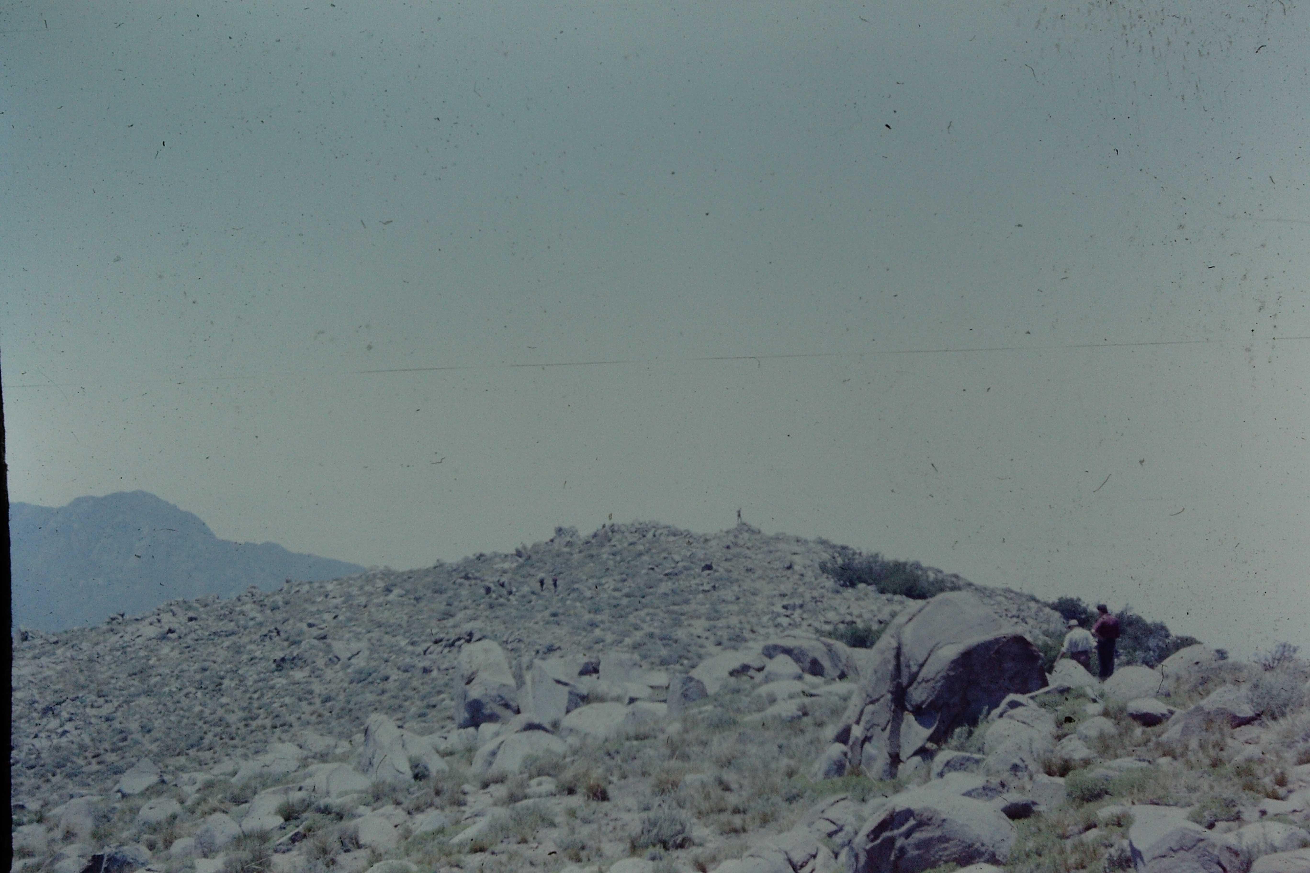 Enterreno - Fotos históricas de chile - fotos antiguas de Chile - Cerro el Roble ca. 1970