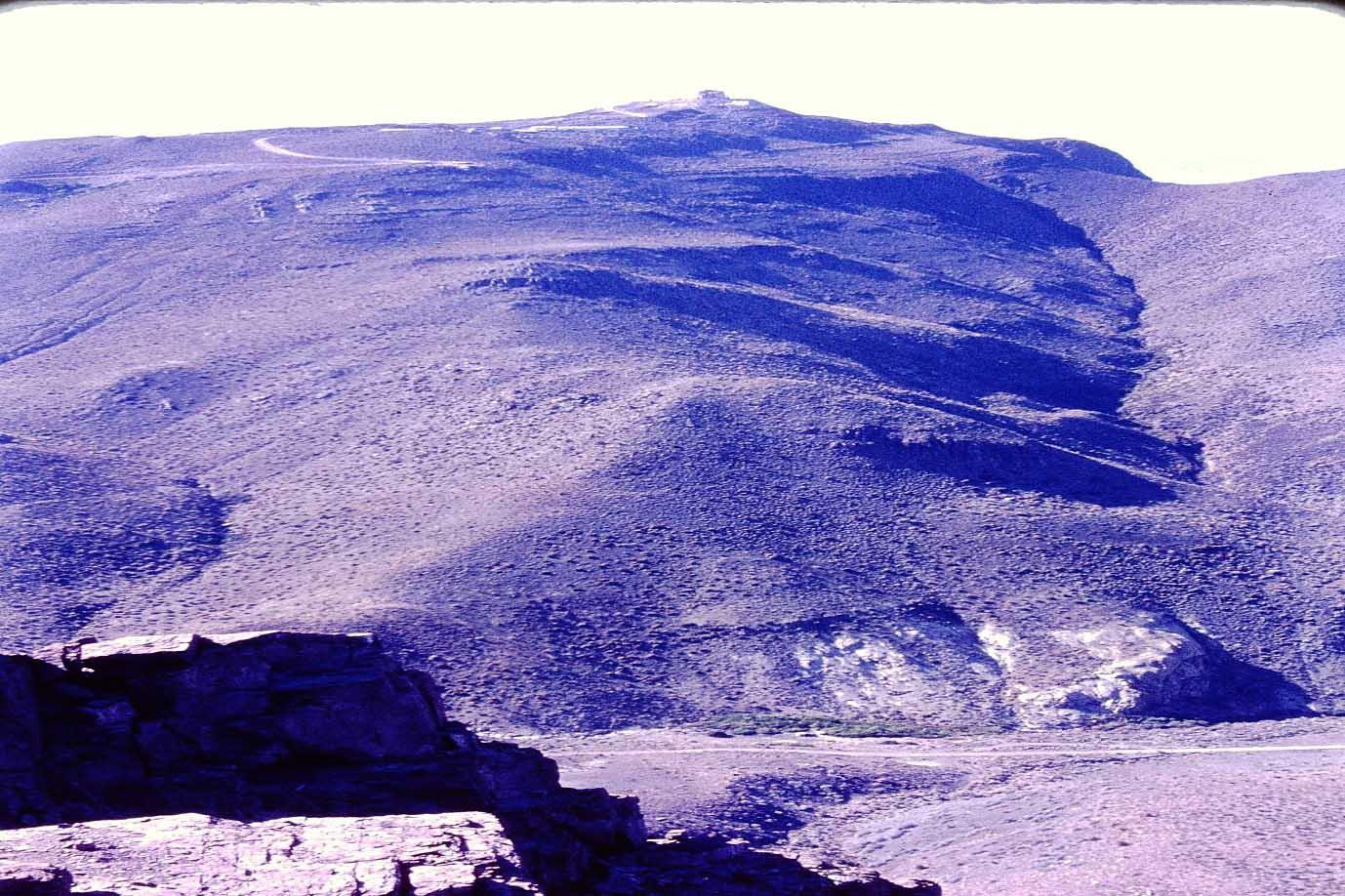 Enterreno - Fotos históricas de chile - fotos antiguas de Chile - Cerro Tololo en 1975