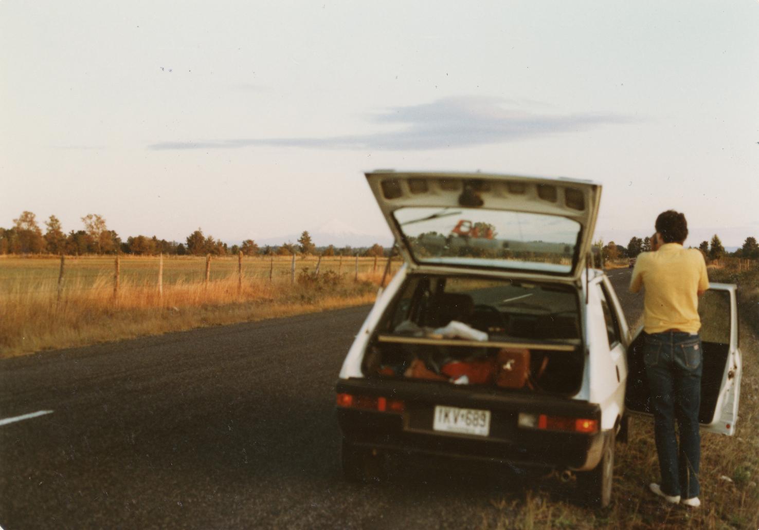 Enterreno - Fotos históricas de chile - fotos antiguas de Chile - Viaje Carretera Austral en 1984