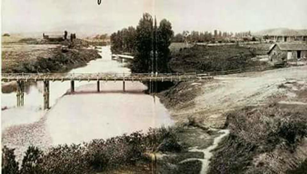 Enterreno - Fotos históricas de chile - fotos antiguas de Chile - Rio Tutuven  en 1900