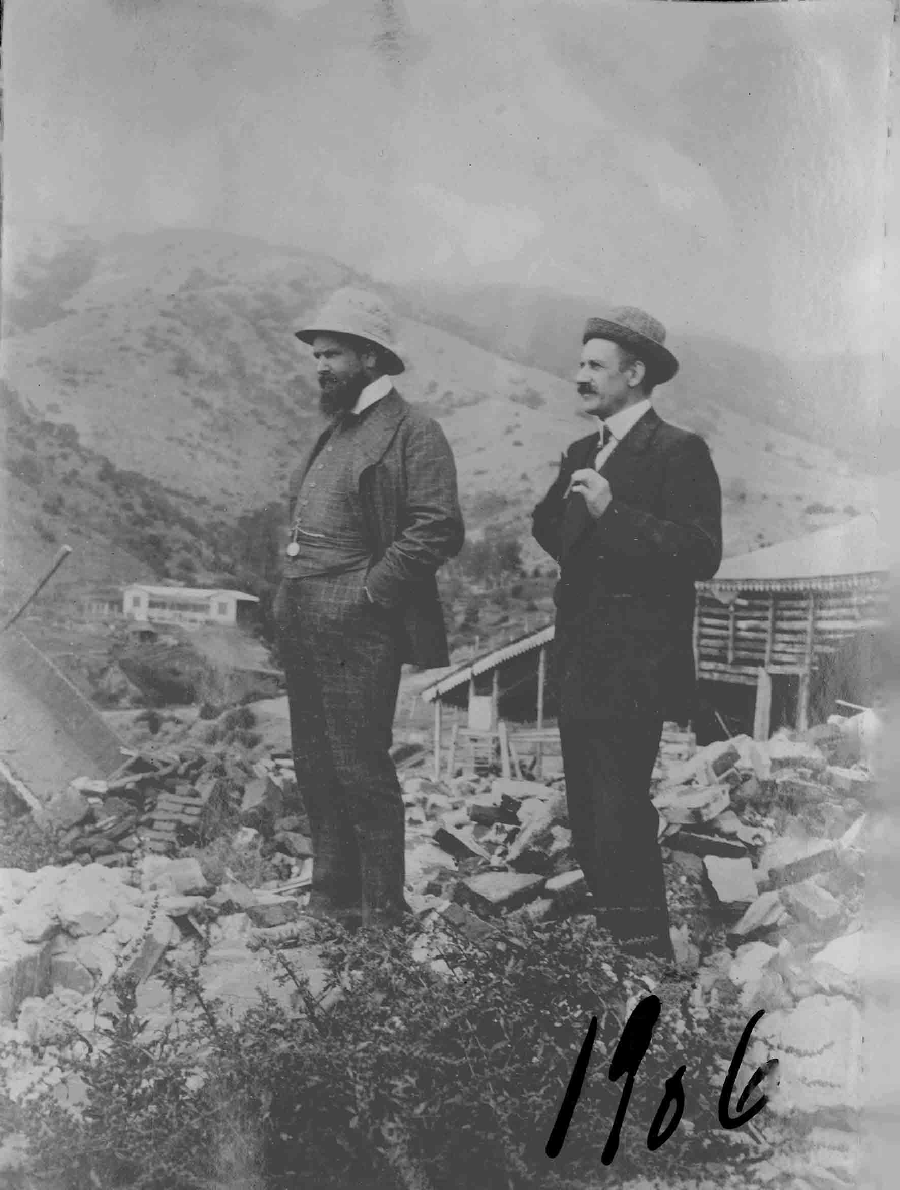 Enterreno - Fotos históricas de chile - fotos antiguas de Chile - Zapallar en 1906