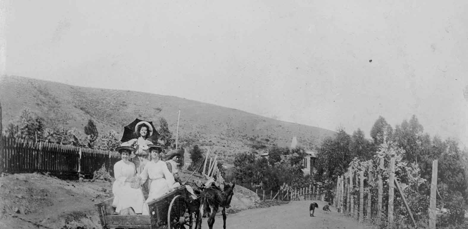 Enterreno - Fotos históricas de chile - fotos antiguas de Chile - Lugar desconocido en 1904