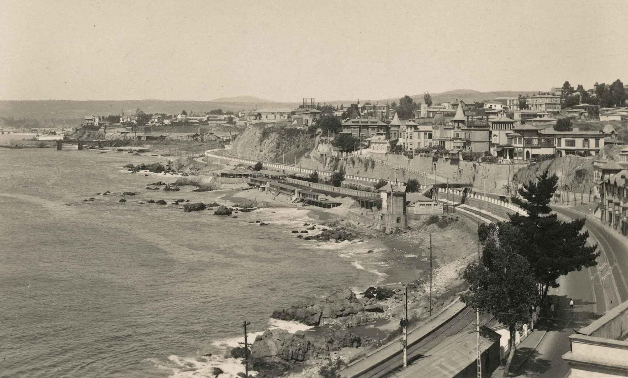 Enterreno - Fotos históricas de chile - fotos antiguas de Chile - Recreo en 1924