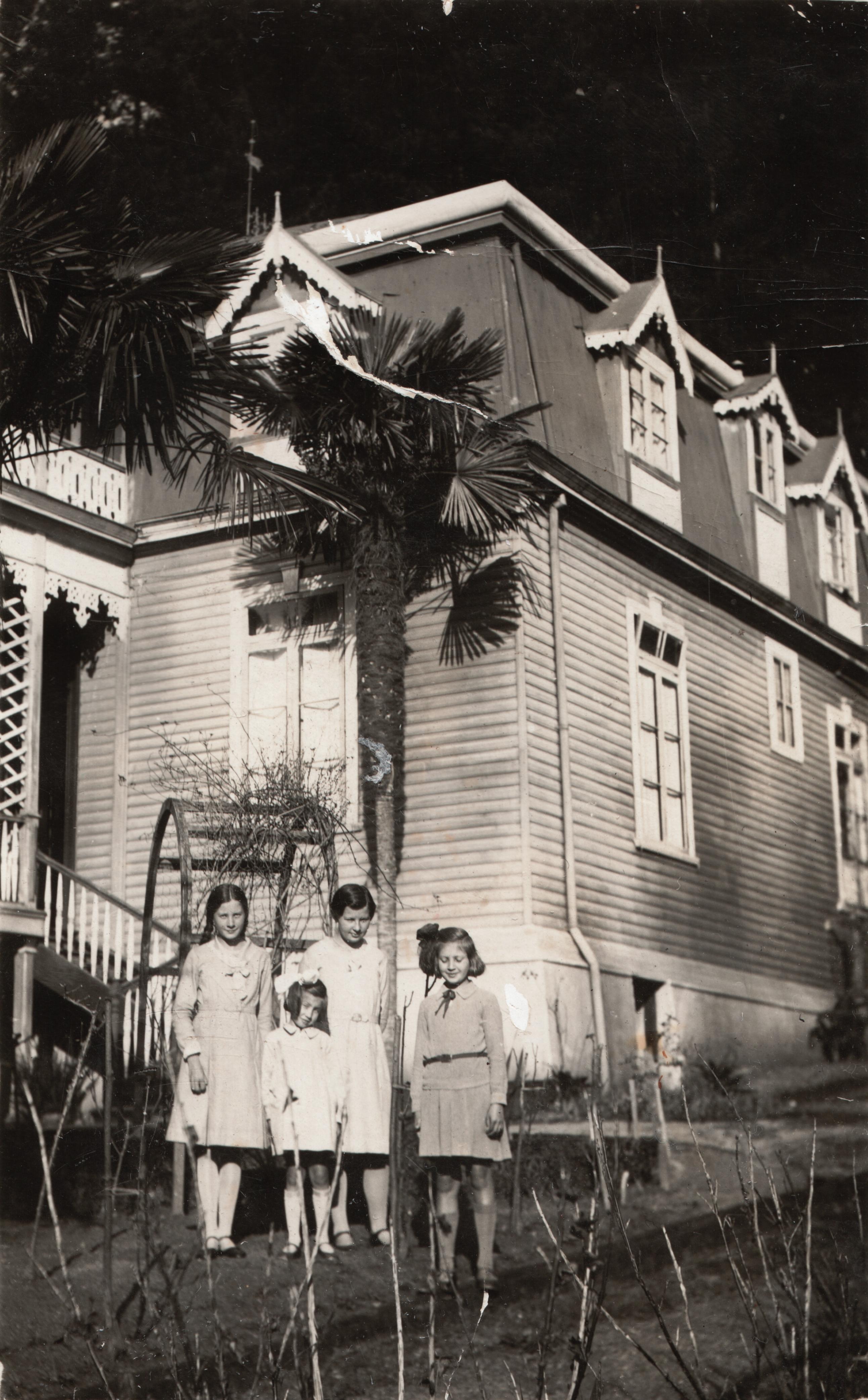 Enterreno - Fotos históricas de chile - fotos antiguas de Chile - Concepción en 1931