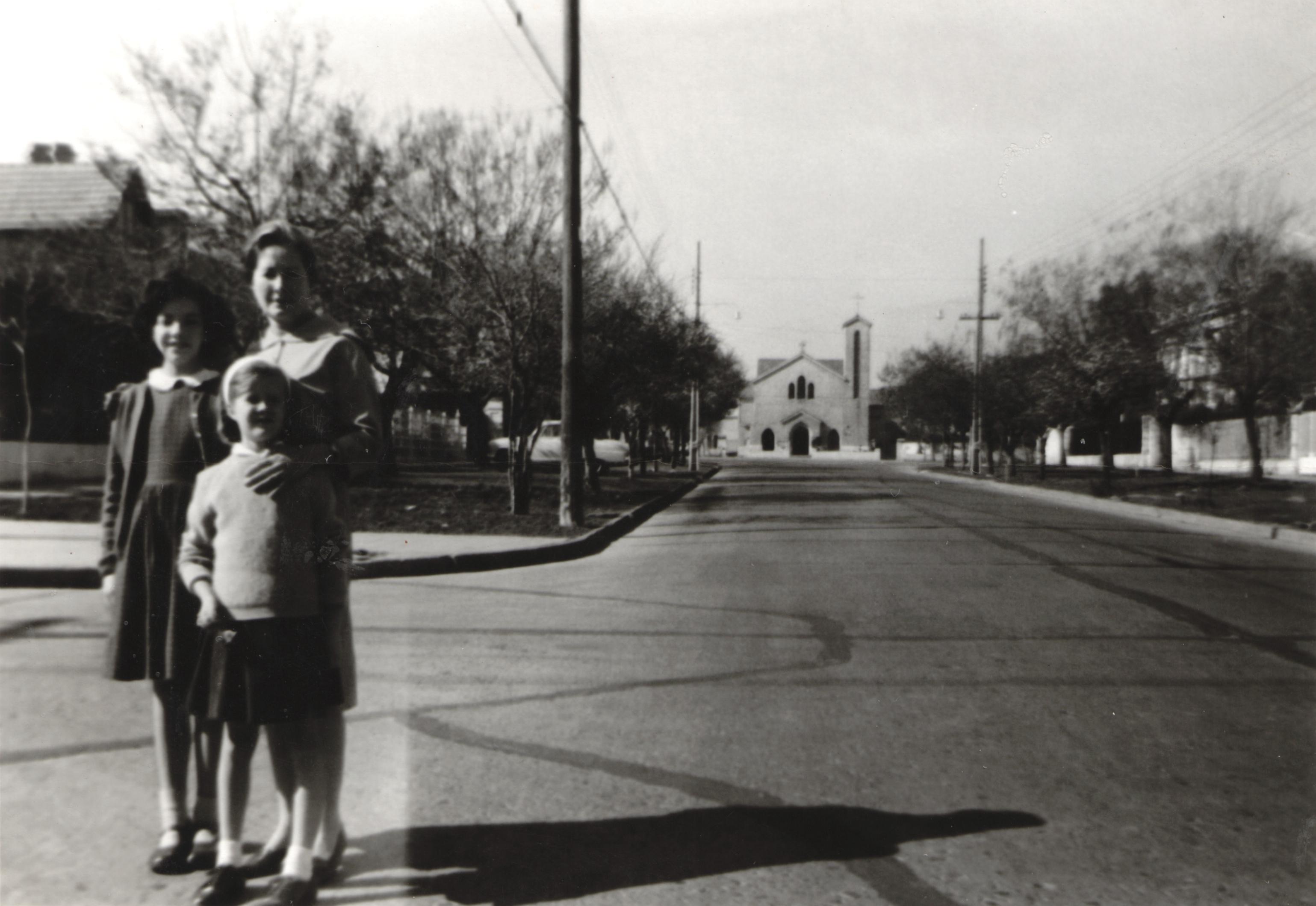 Enterreno - Fotos históricas de chile - fotos antiguas de Chile - Barrio El Golf, Santiago, 1962