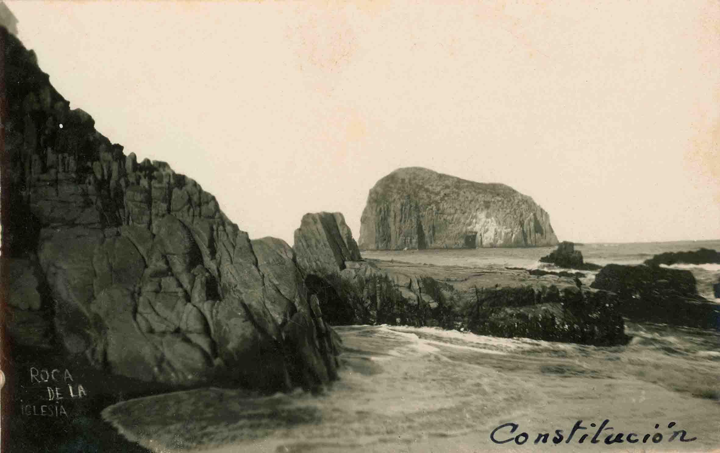 Enterreno - Fotos históricas de chile - fotos antiguas de Chile - Constitución ca. 1920