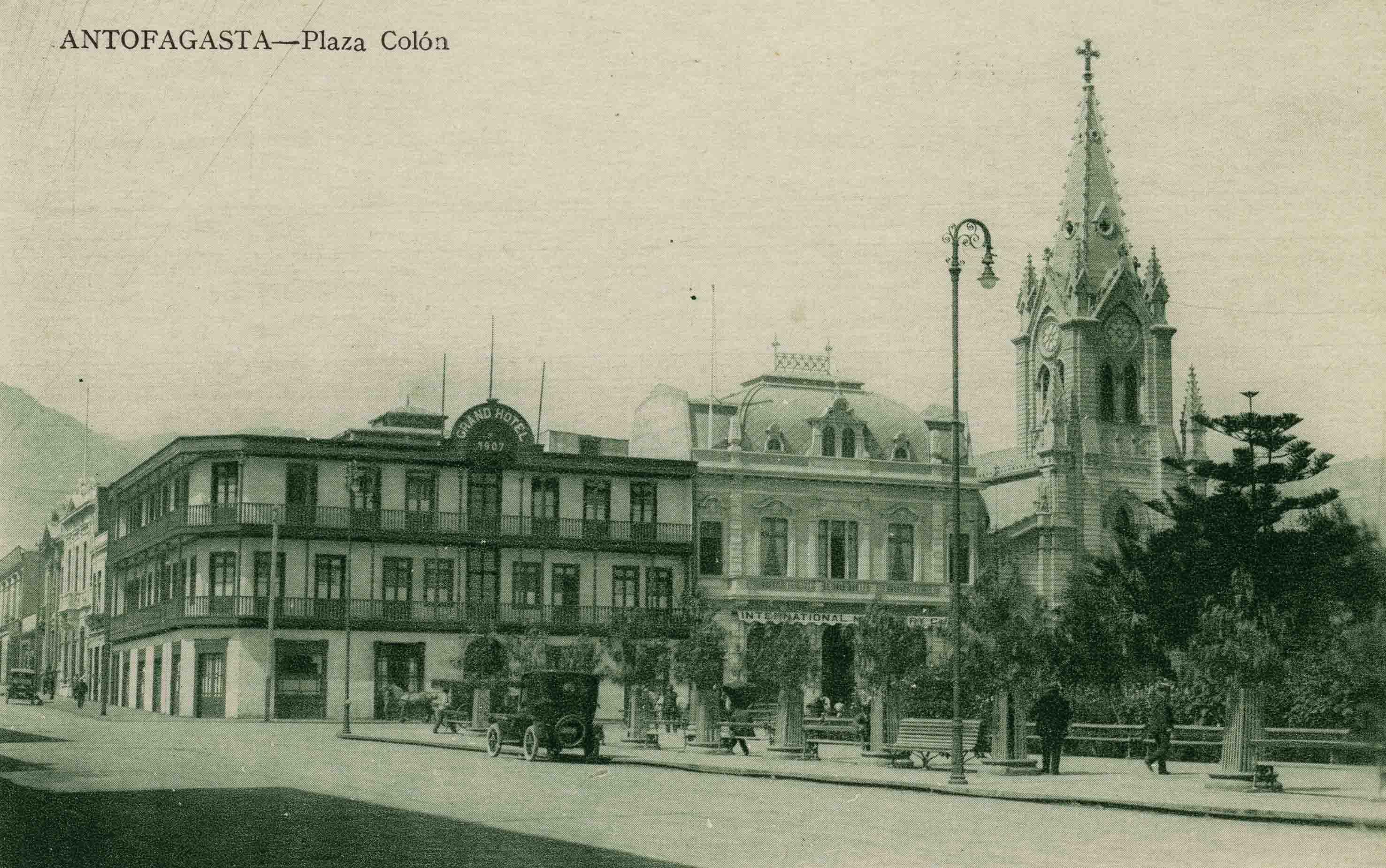 Enterreno - Fotos históricas de chile - fotos antiguas de Chile - Antofagasta ca. 1910