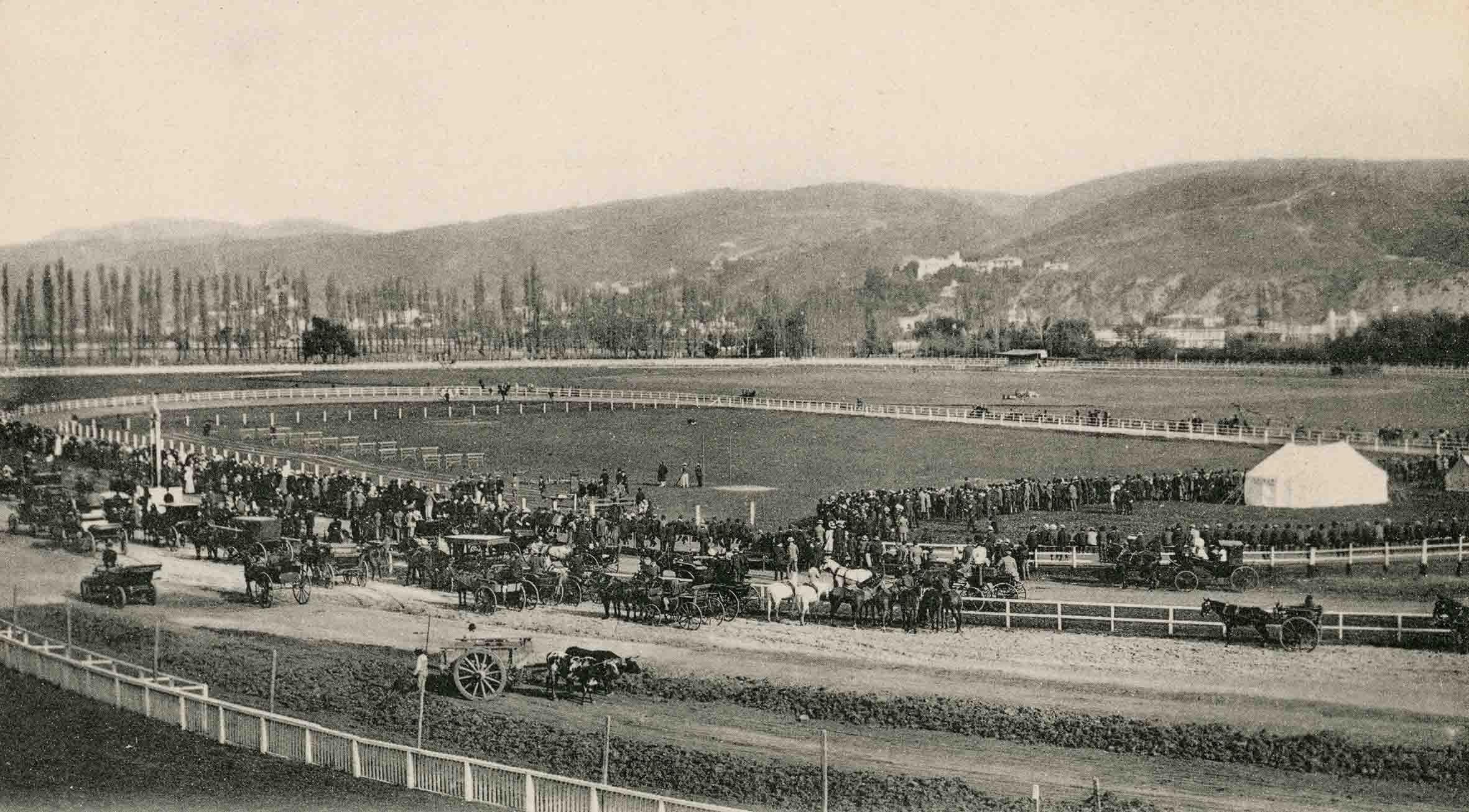 Enterreno - Fotos históricas de chile - fotos antiguas de Chile - Sportin Club de Viña del MAr en 1913