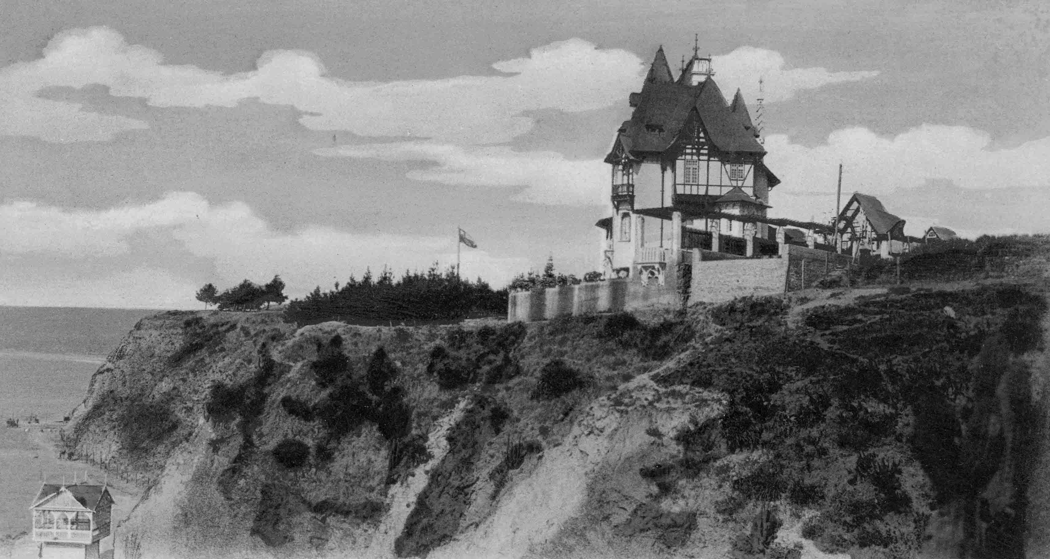 Enterreno - Fotos históricas de chile - fotos antiguas de Chile - Castillo de Luis Gregorio Donoso Vergara ca. 1900