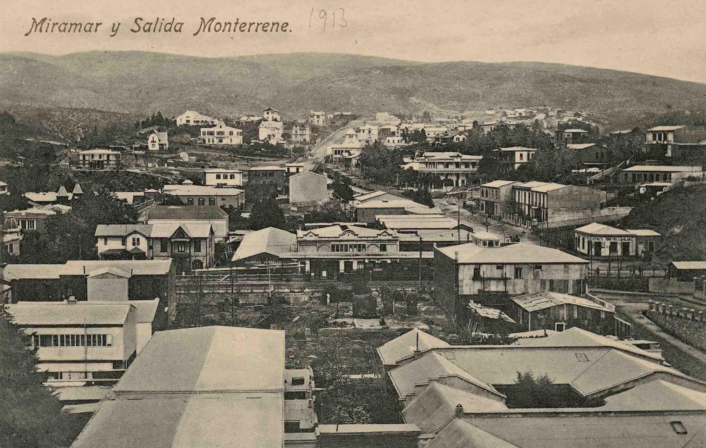 Enterreno - Fotos históricas de chile - fotos antiguas de Chile - Viña del Mar en 1913