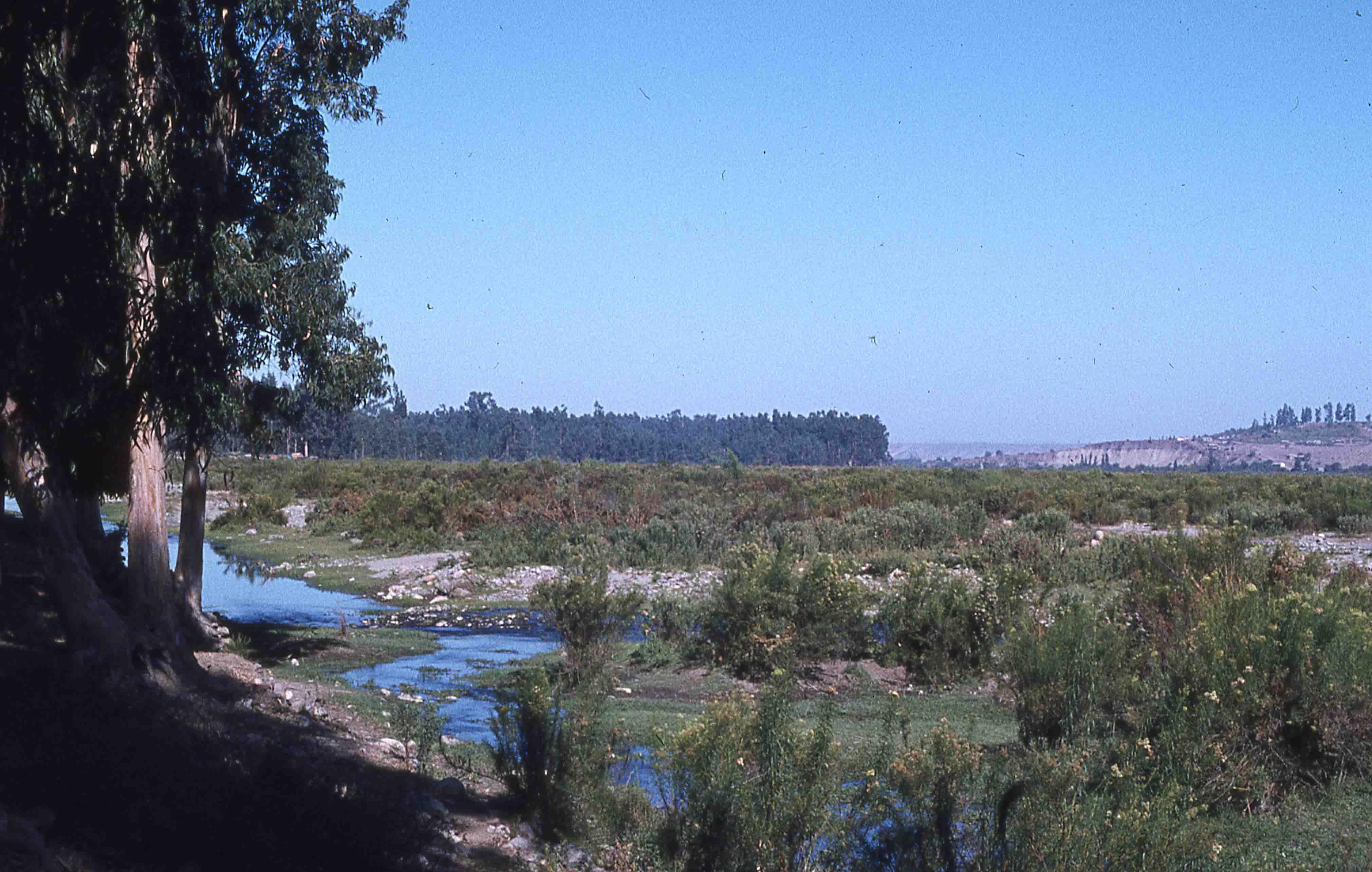 Enterreno - Fotos históricas de chile - fotos antiguas de Chile - Río Hurtado en los años 70s