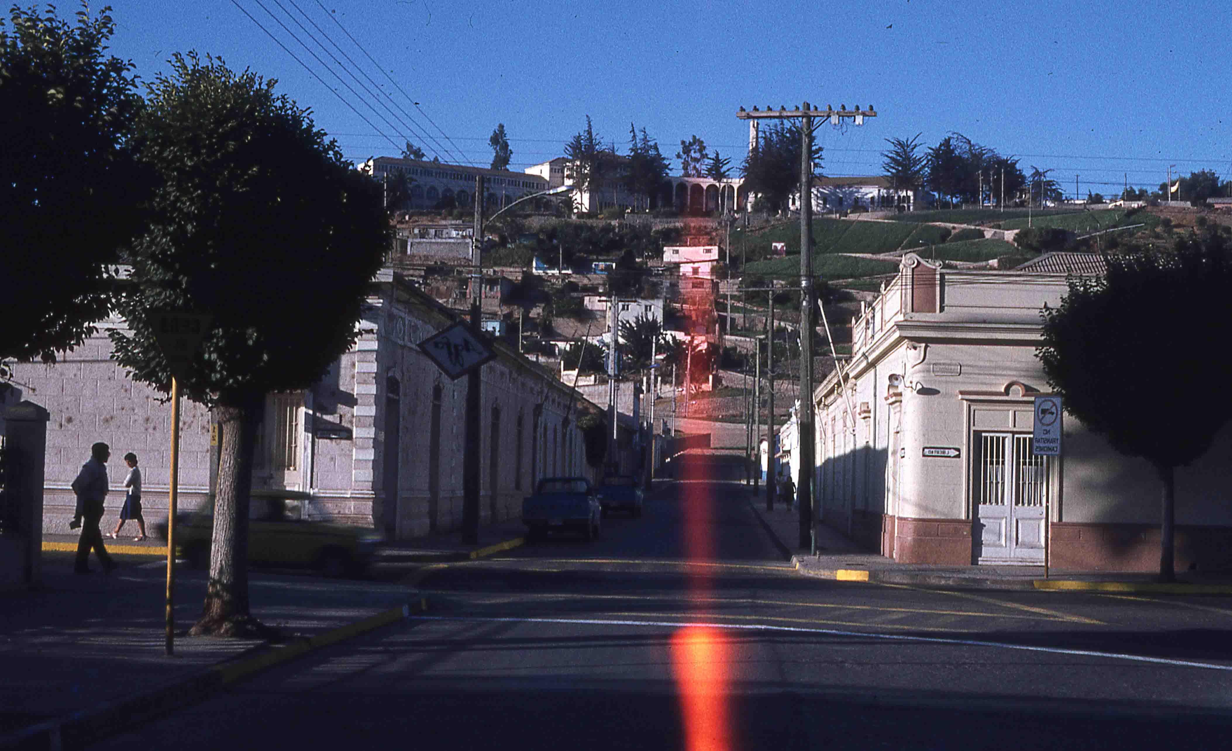 Enterreno - Fotos históricas de chile - fotos antiguas de Chile - Ovalle en los años 70s
