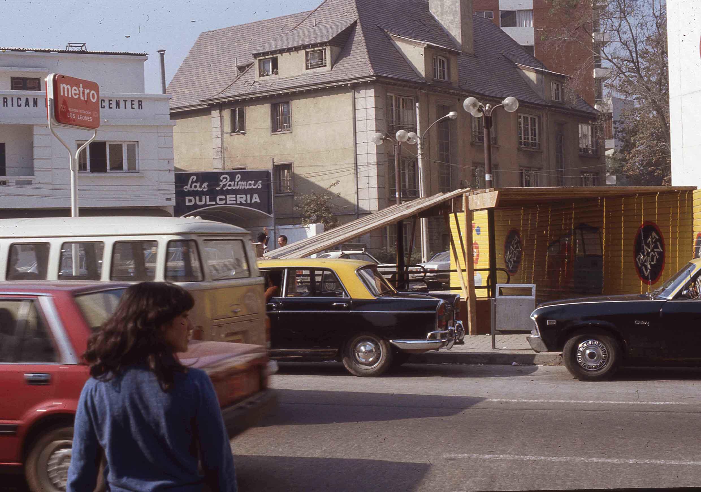 Enterreno - Fotos históricas de chile - fotos antiguas de Chile - Santiago en los años 80