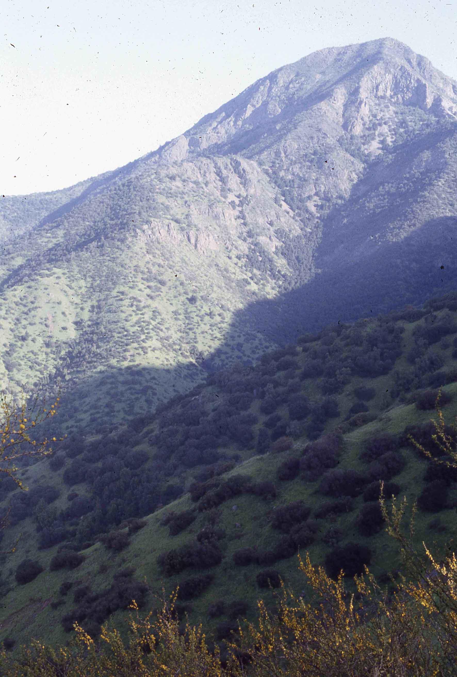 Enterreno - Fotos históricas de chile - fotos antiguas de Chile - Cerro Manquehue en 1980