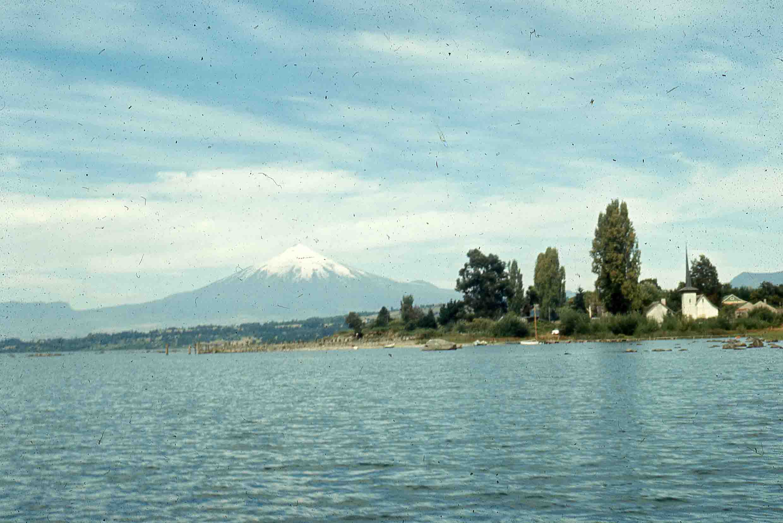 Enterreno - Fotos históricas de chile - fotos antiguas de Chile - Lago llanquihue en 1980
