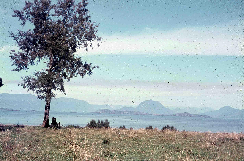 Enterreno - Fotos históricas de chile - fotos antiguas de Chile - Lago Ranco en 1980