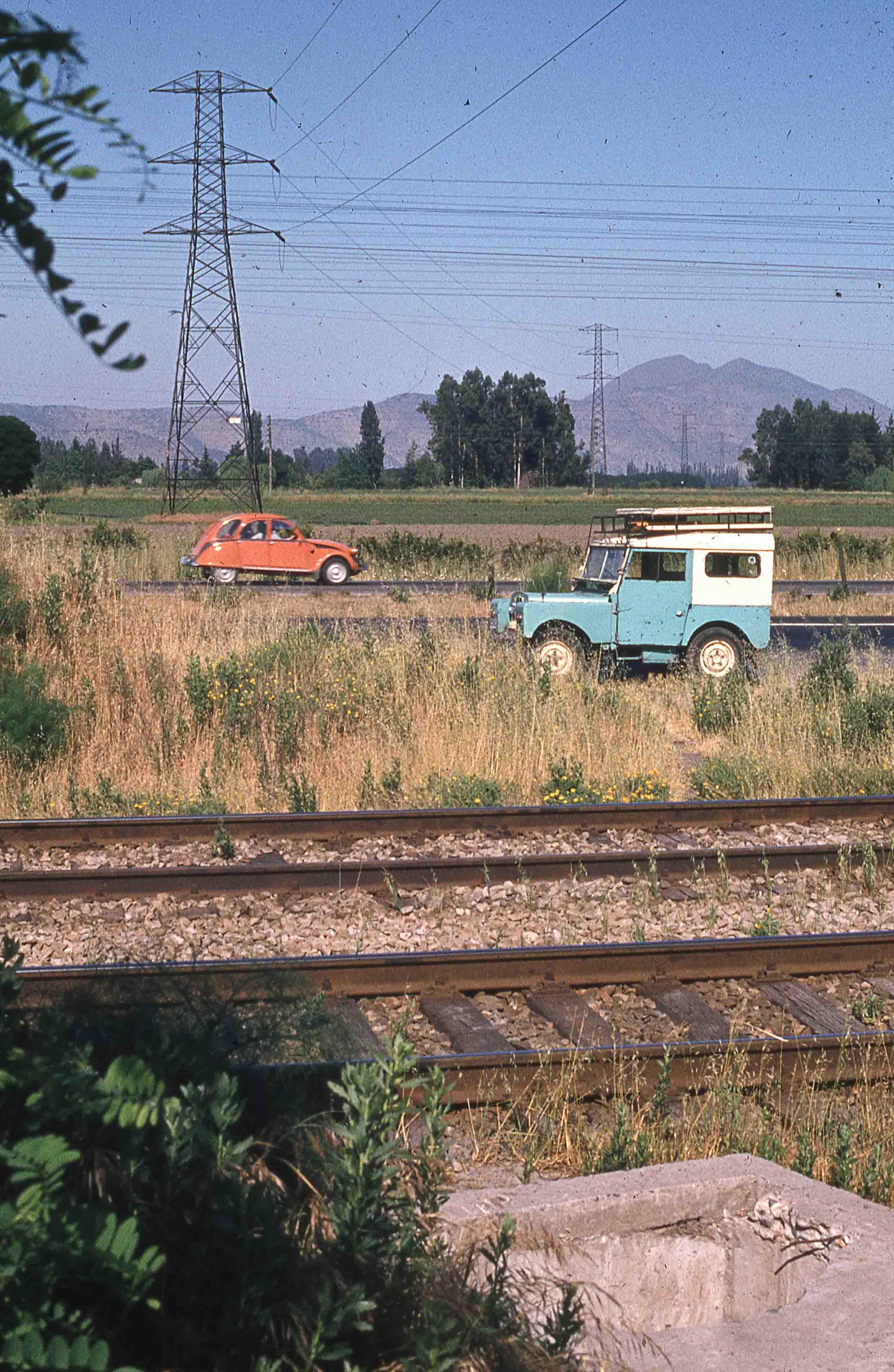 Enterreno - Fotos históricas de chile - fotos antiguas de Chile - Lineas ferroviarias en los 80