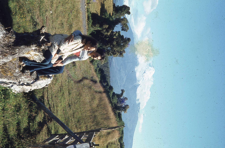 Enterreno - Fotos históricas de chile - fotos antiguas de Chile - Volcán Villarrica en los 70