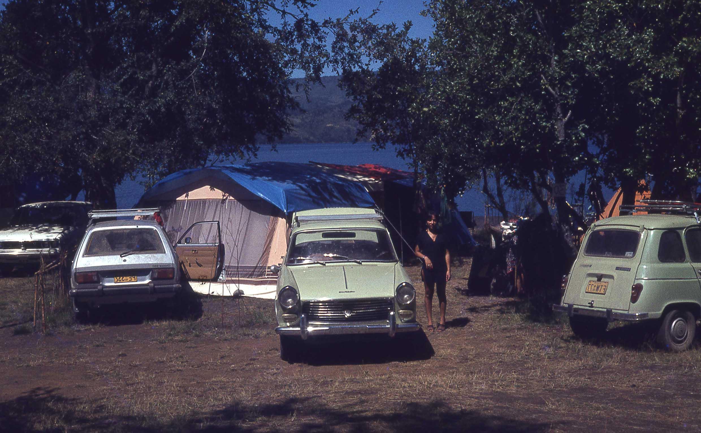 Enterreno - Fotos históricas de chile - fotos antiguas de Chile - Camping en el sur de Chile a finales de los 70