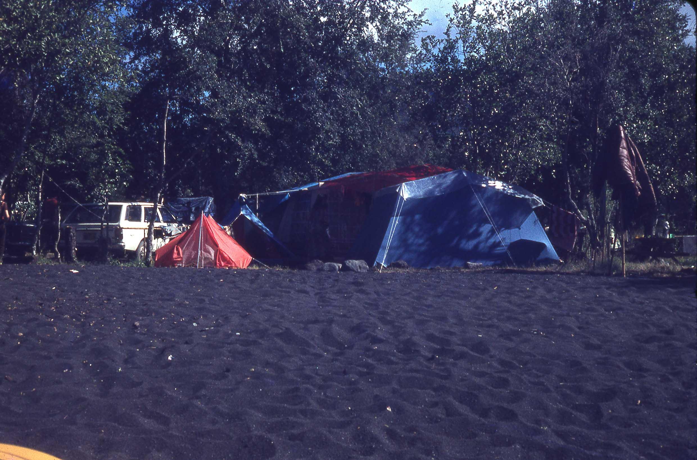 Enterreno - Fotos históricas de chile - fotos antiguas de Chile - Camping en los años 70