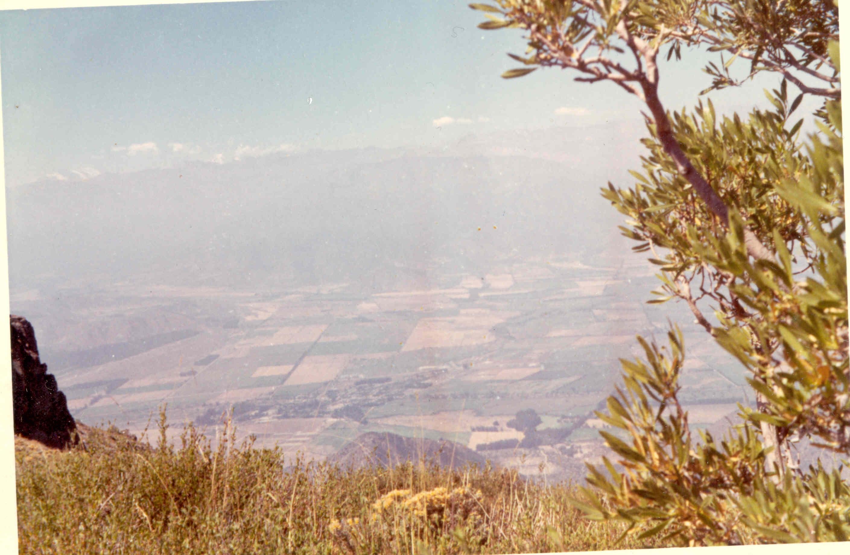 Enterreno - Fotos históricas de chile - fotos antiguas de Chile - Alto de Cantillana  en 1969