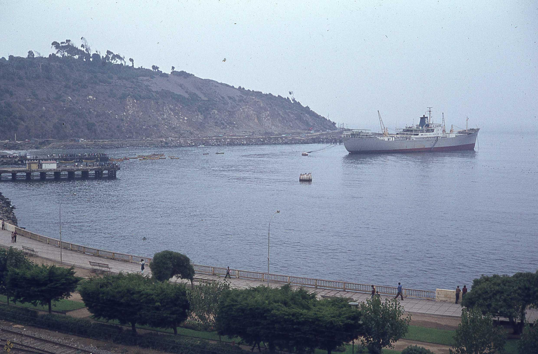 Enterreno - Fotos históricas de chile - fotos antiguas de Chile - San Antonio en 1979