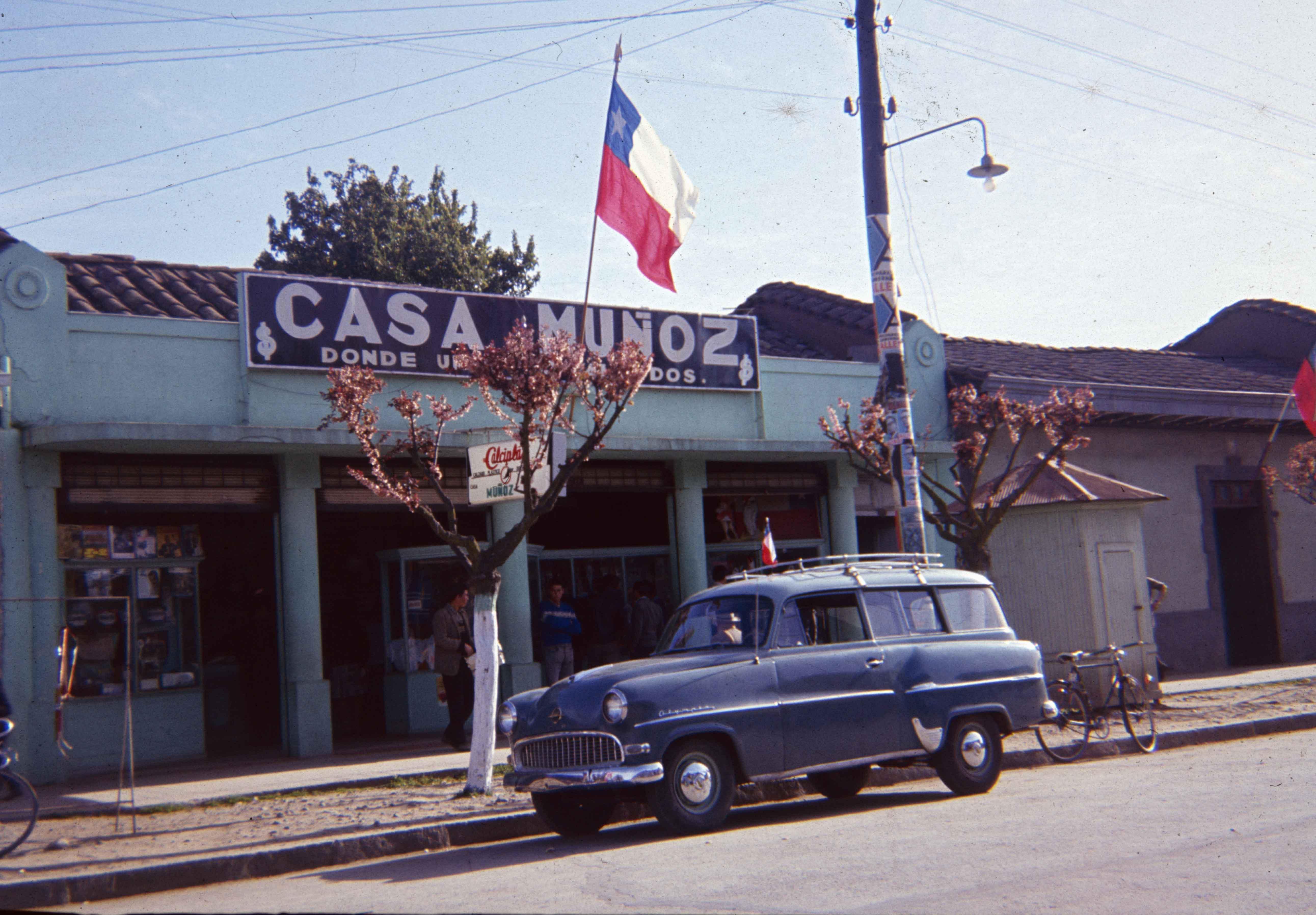 Enterreno - Fotos históricas de chile - fotos antiguas de Chile - Teno en los años 60