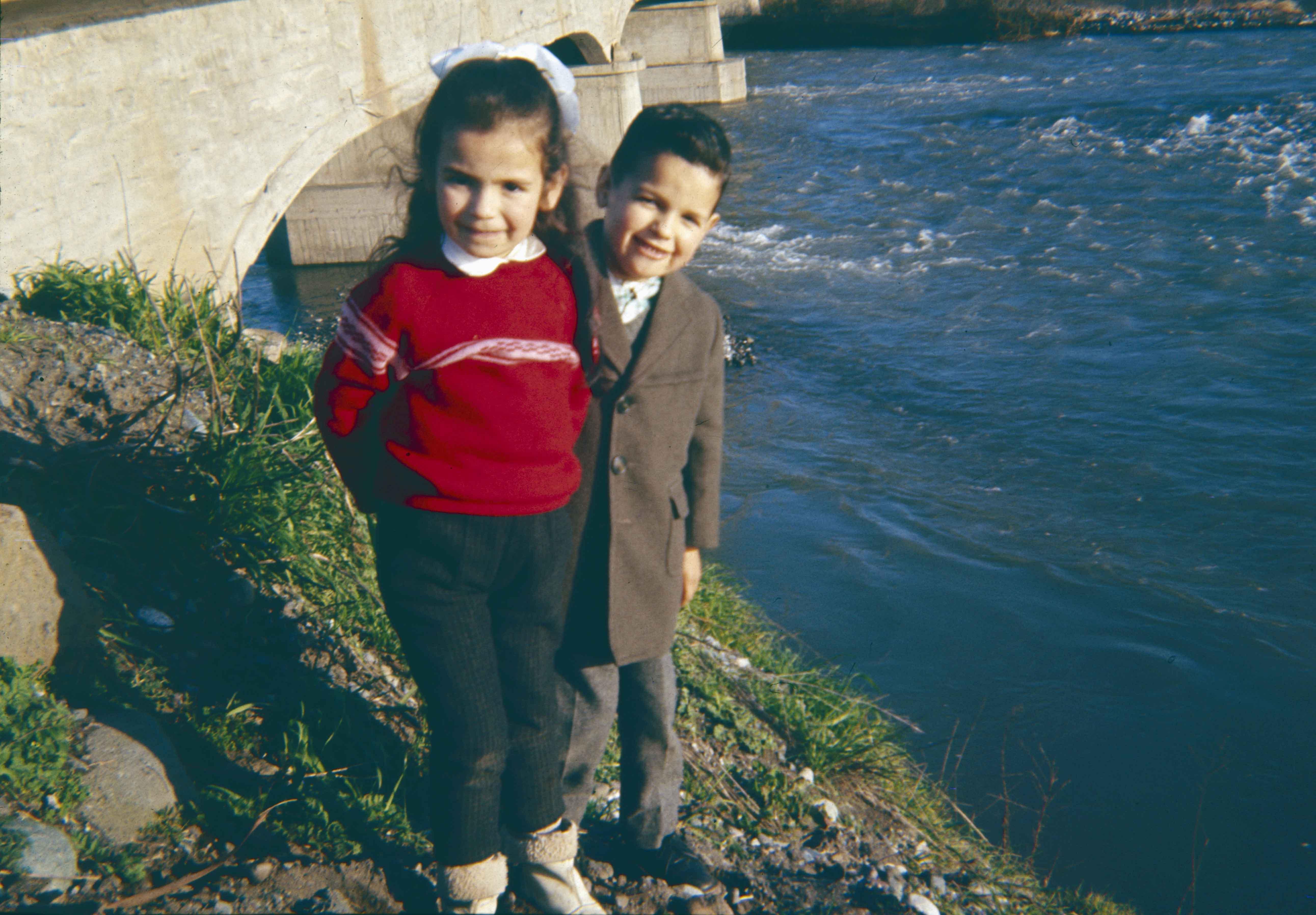 Enterreno - Fotos históricas de chile - fotos antiguas de Chile - Río Teno en los años 60