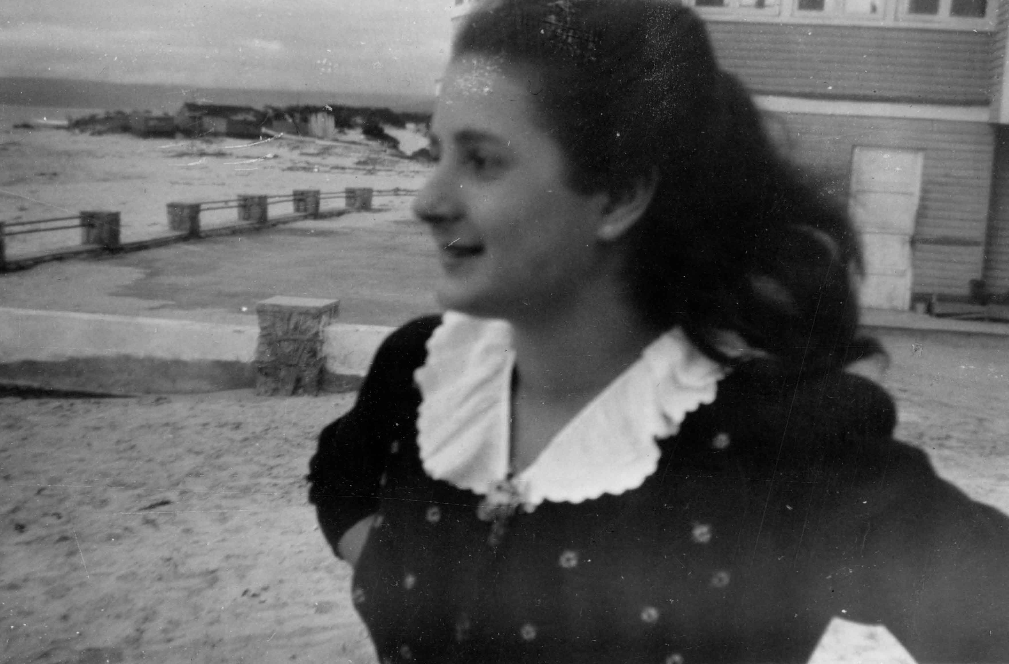 Enterreno - Fotos históricas de chile - fotos antiguas de Chile - Algarrobo en 1947