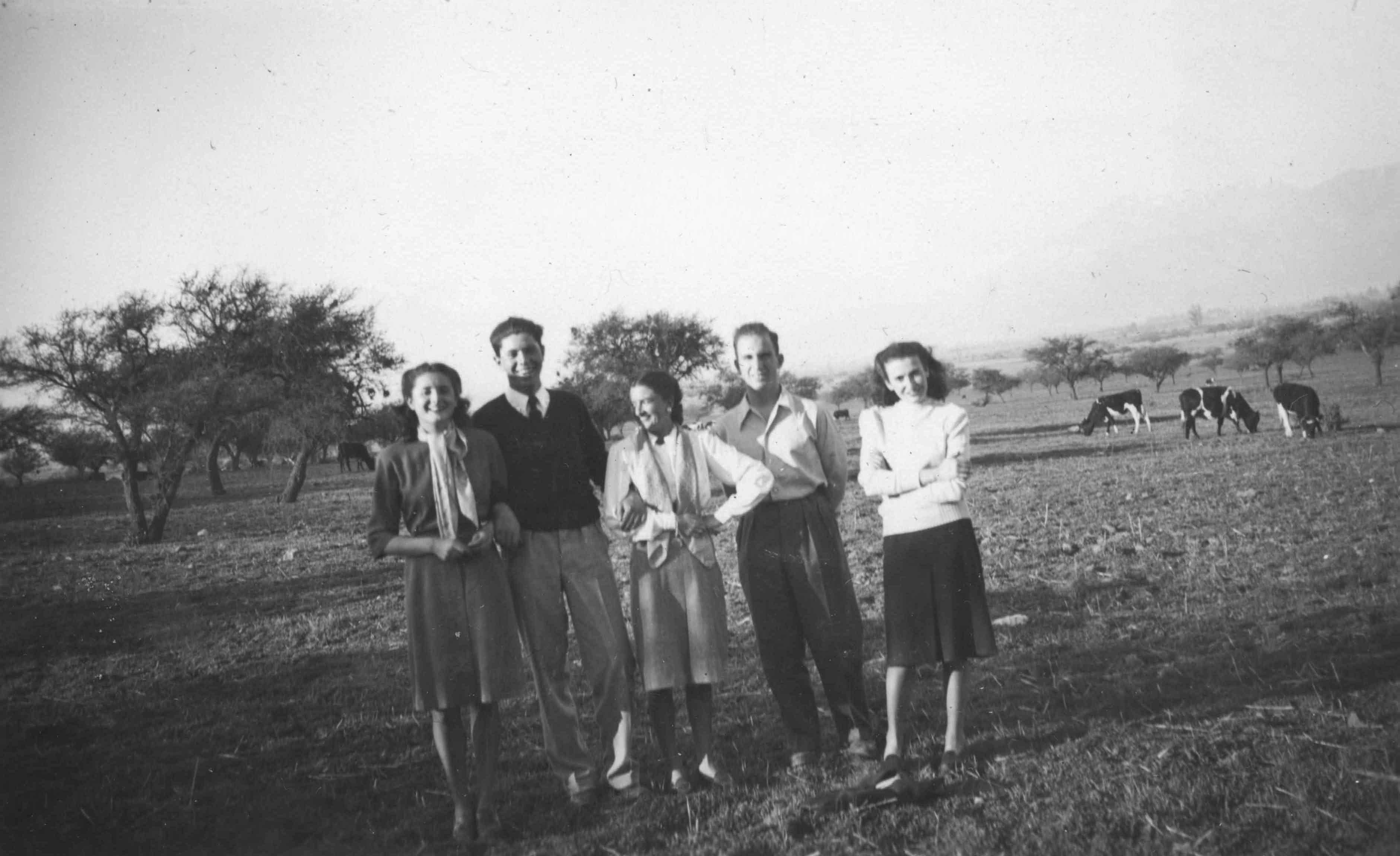 Enterreno - Fotos históricas de chile - fotos antiguas de Chile - Puente Alto en 1947