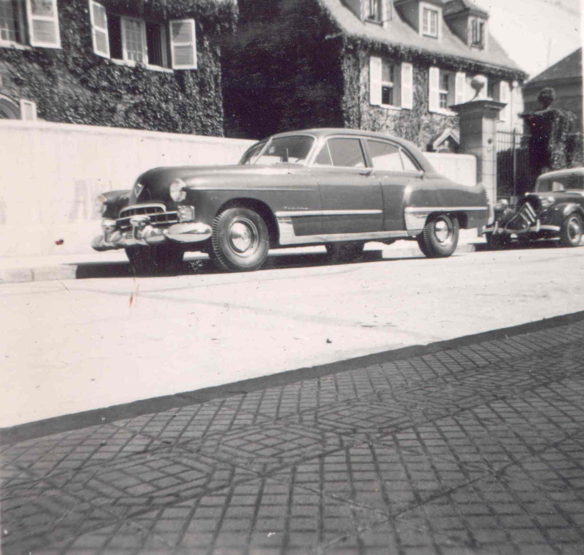 Enterreno - Fotos históricas de chile - fotos antiguas de Chile - Providencia en 1949