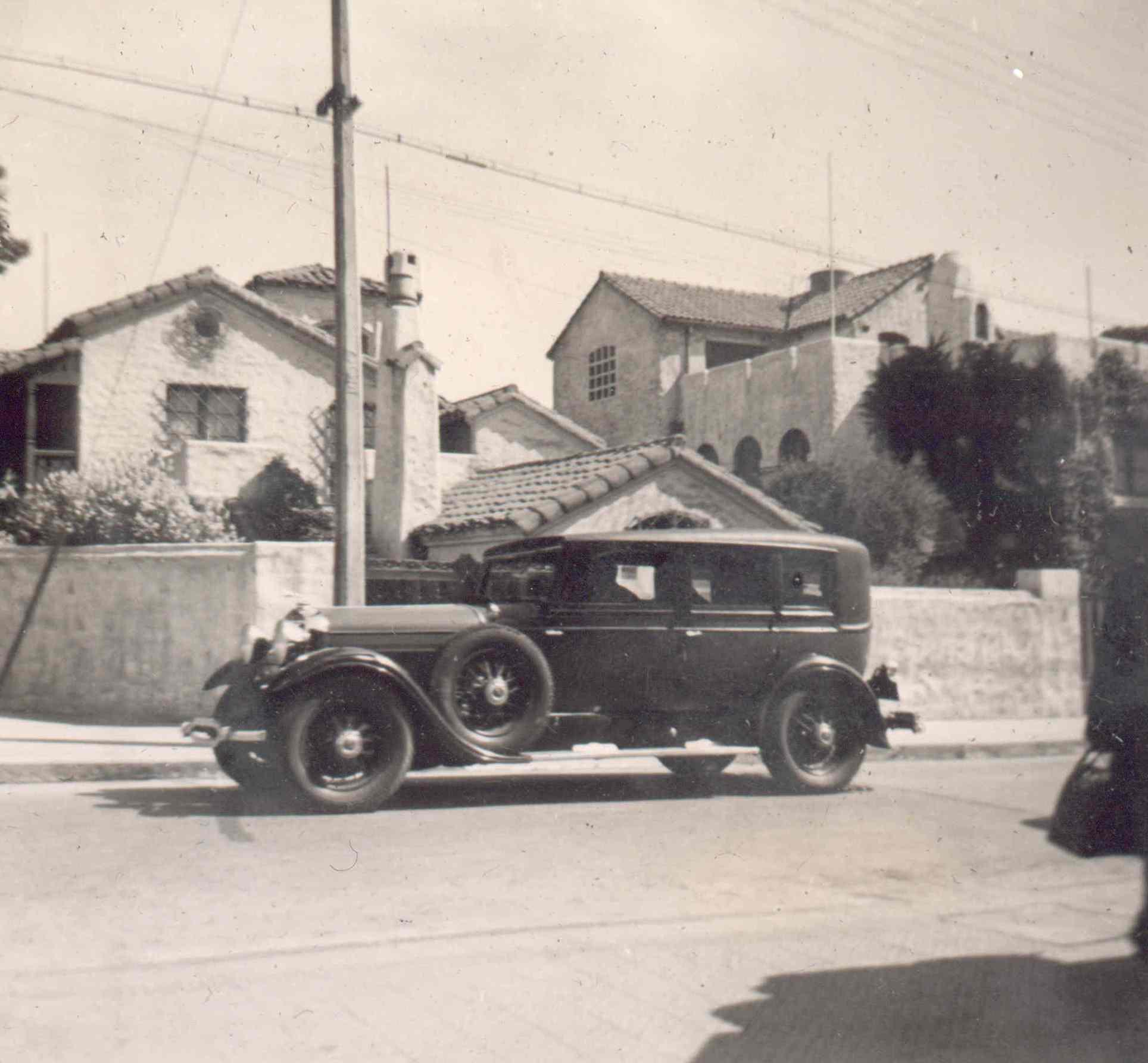 Enterreno - Fotos históricas de chile - fotos antiguas de Chile - Providencia en 1944
