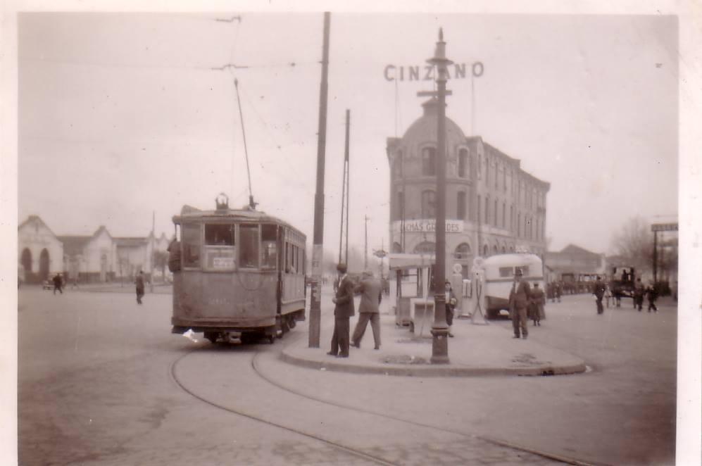 Enterreno - Fotos históricas de chile - fotos antiguas de Chile - Sector Estación Central en 1940