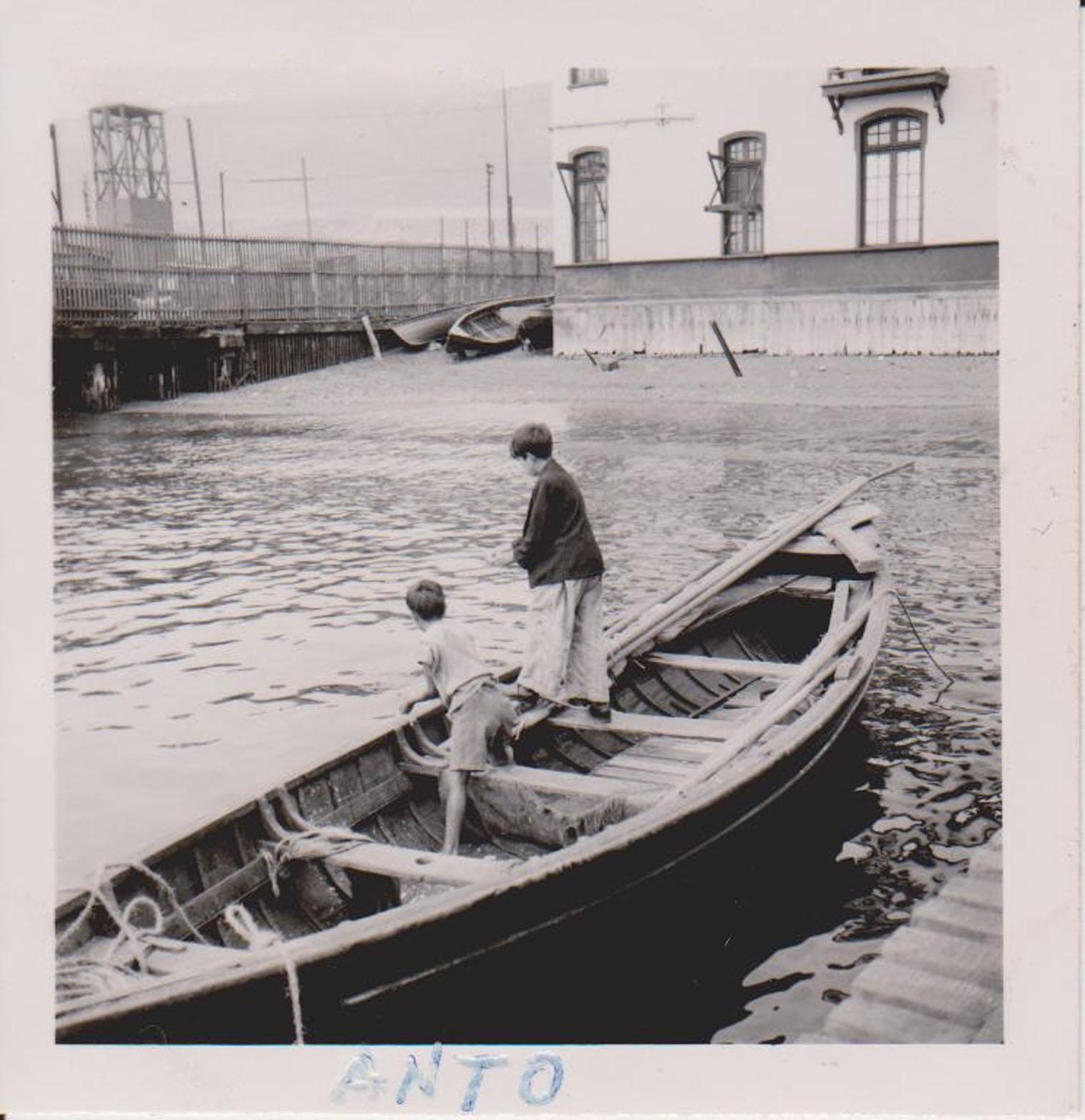 Enterreno - Fotos históricas de chile - fotos antiguas de Chile - Antofagasta en 1950