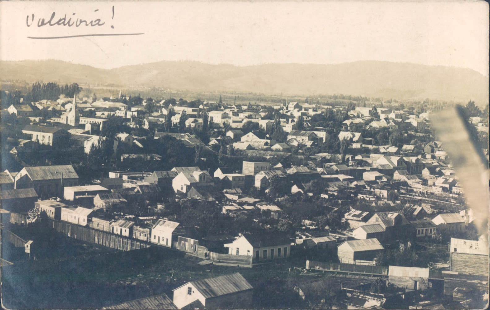 Enterreno - Fotos históricas de chile - fotos antiguas de Chile - Valdivia en 1920