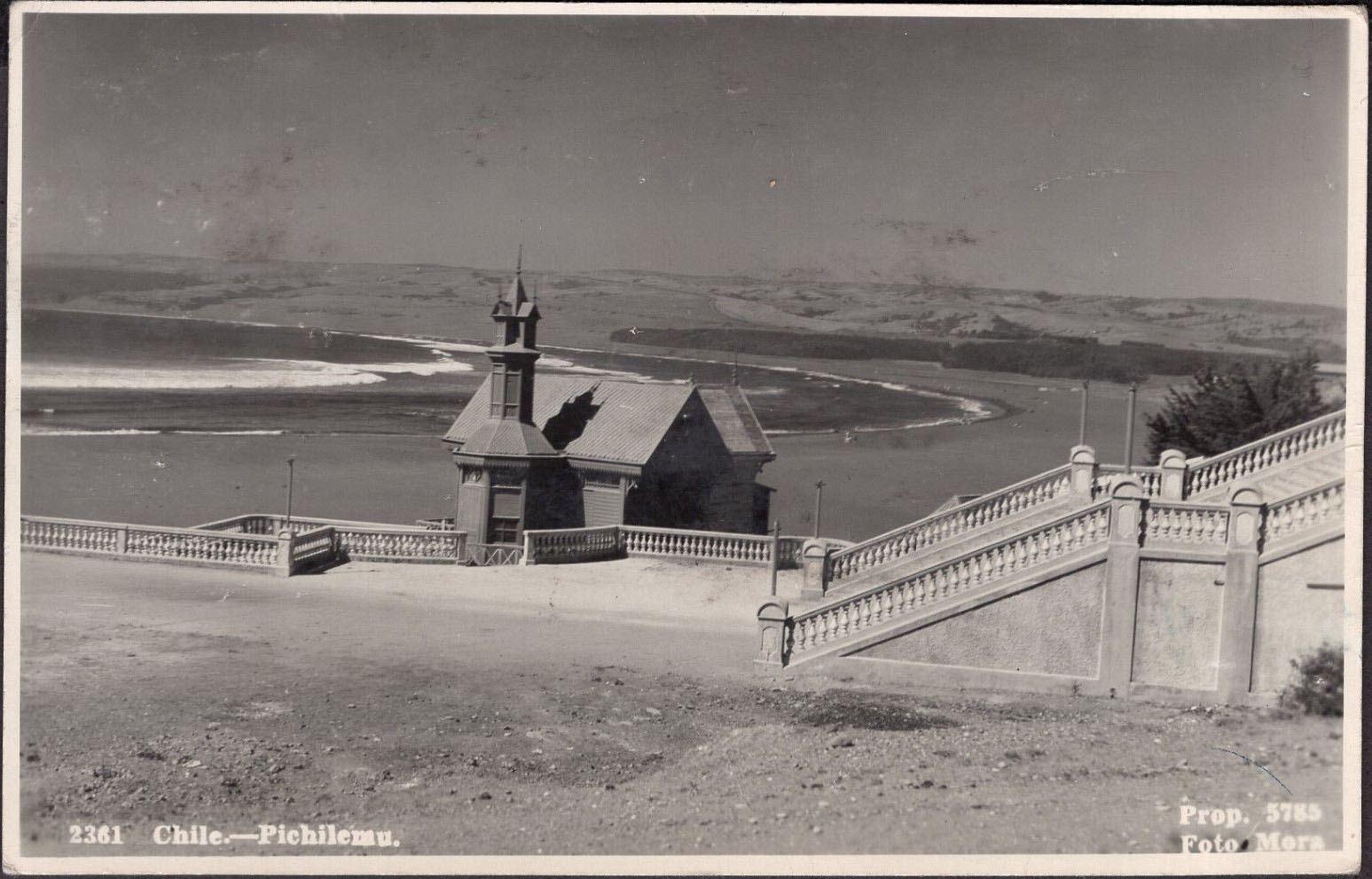 Enterreno - Fotos históricas de chile - fotos antiguas de Chile - Picihilemu, 1945