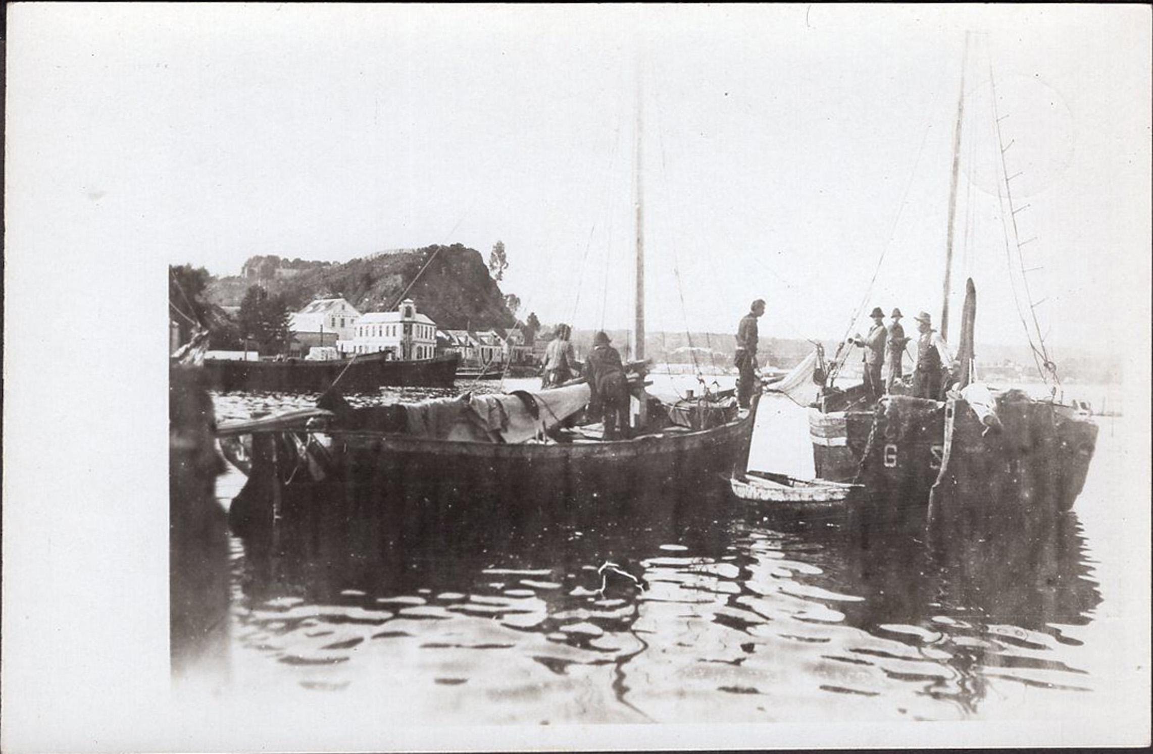 Enterreno - Fotos históricas de chile - fotos antiguas de Chile - Puerto Montt en 1922