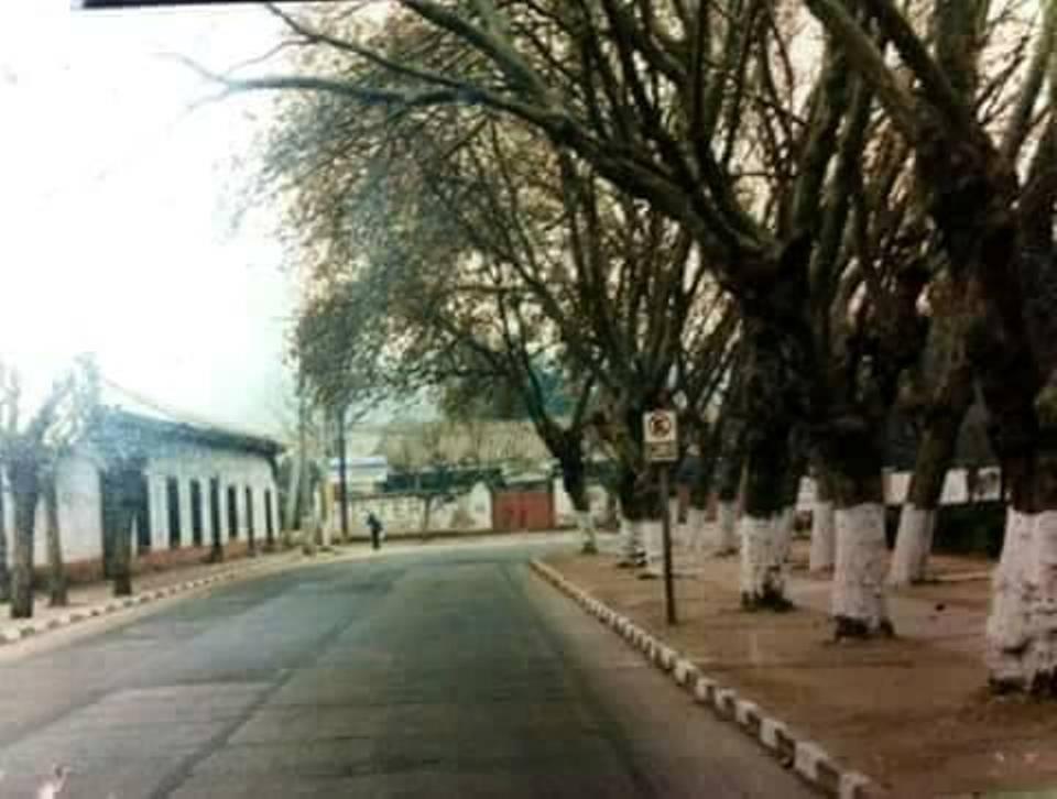 Enterreno - Fotos históricas de chile - fotos antiguas de Chile - Plaza de Quilicura en 1971