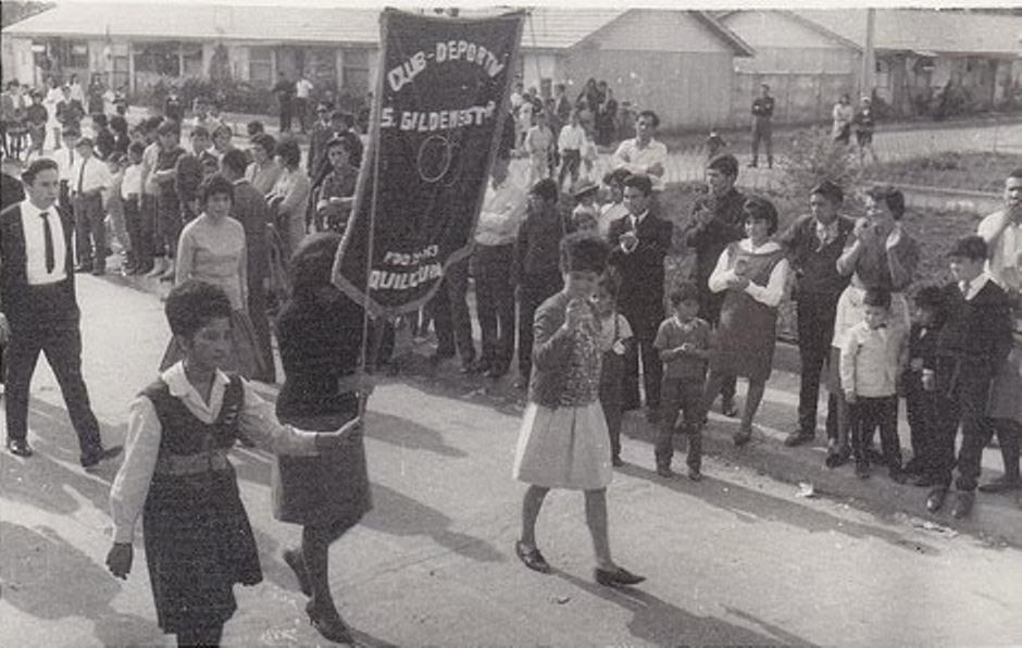 Enterreno - Fotos históricas de chile - fotos antiguas de Chile - Quilicura Villa Gildemeister, 1964