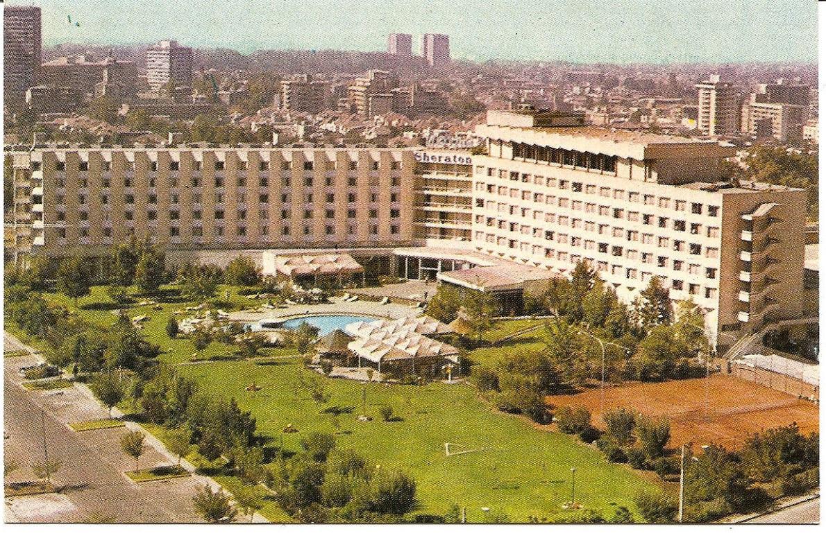 Enterreno - Fotos históricas de chile - fotos antiguas de Chile - Hotel Sheraton de Santiago en 1971