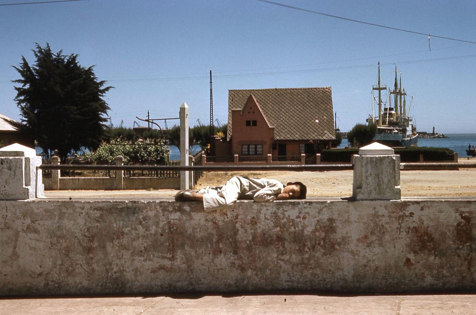 Enterreno - Fotos históricas de chile - fotos antiguas de Chile - San Antonio  en 1960